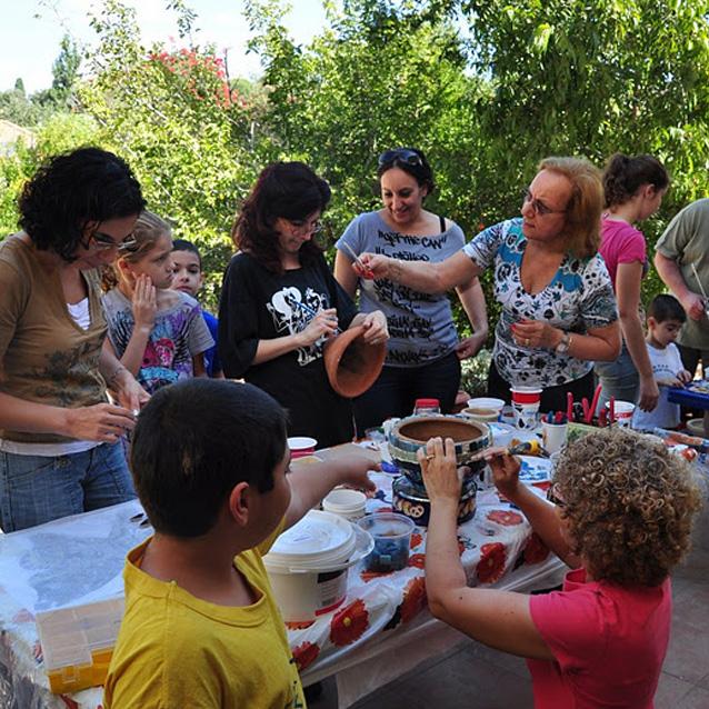 Birthday mosaic workshops for kids