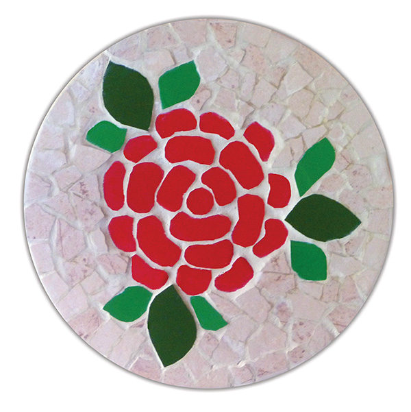 תחתיות פרחים ורד