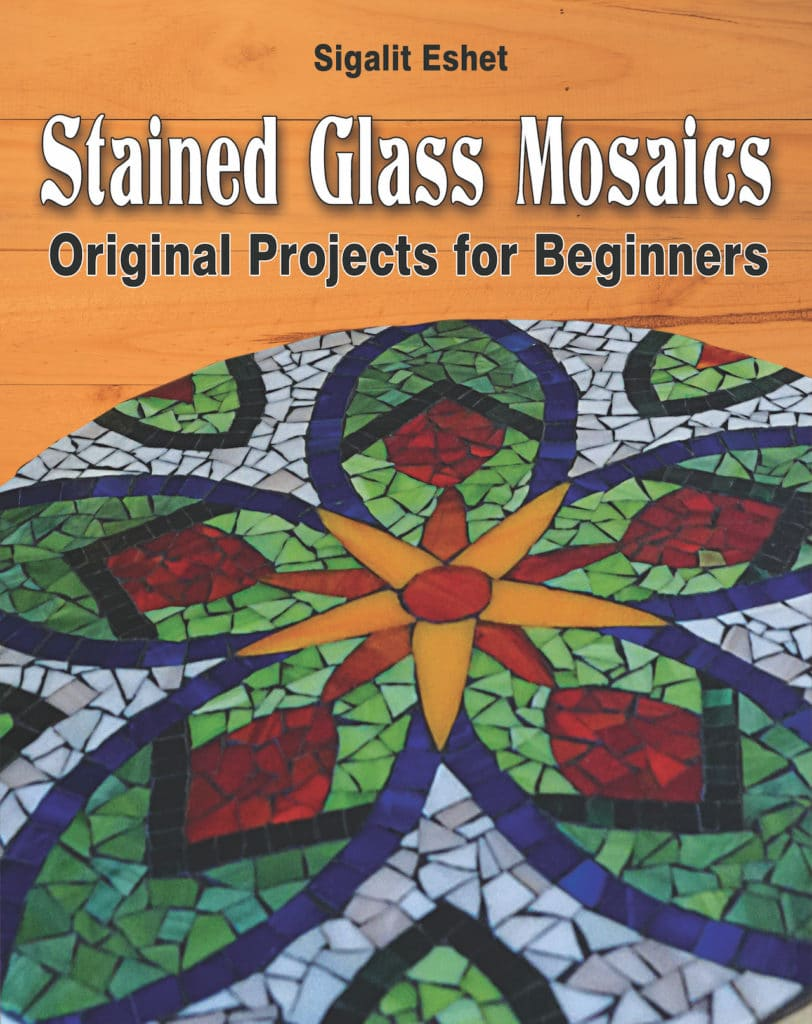 stained glass mosaics original projects for beginners book