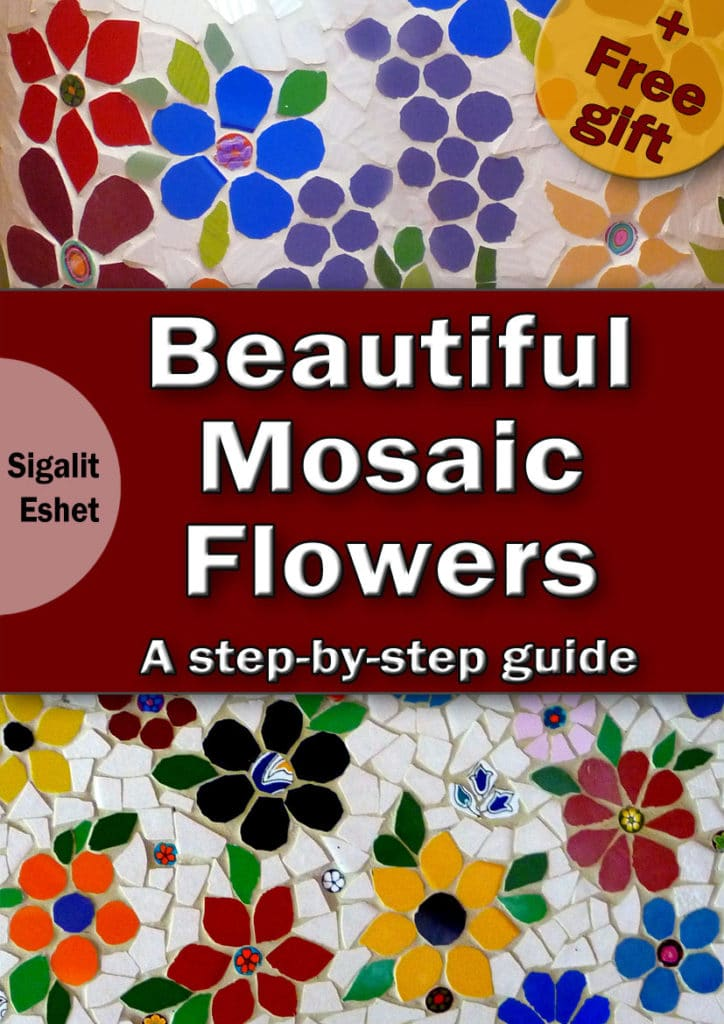beautiful mosaic flowers book step by step guide